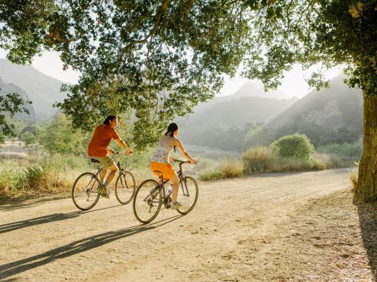 Luna di miele in bicicletta? Sì, grazie!