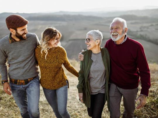 Reisen mit den Eltern: 5 unvergessliche Reiseziele