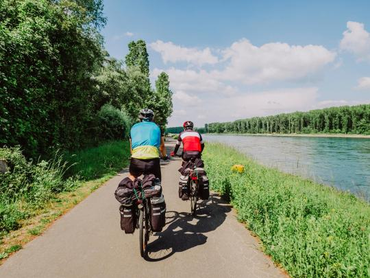 Radurlaub: Fünf-Flüsse-Radweg