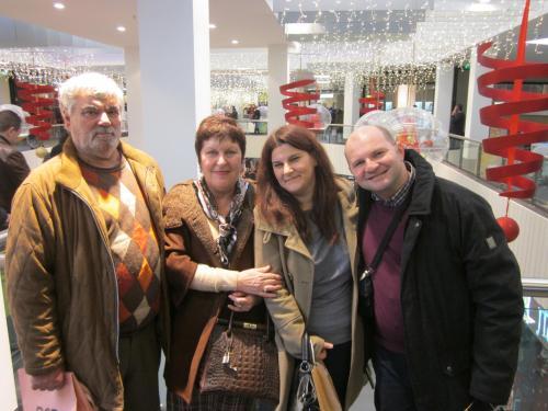 Family:  Diamantis, Meni, Angeliki, George