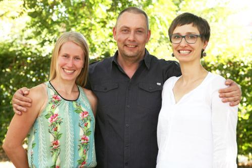 Franzi, André & Carola