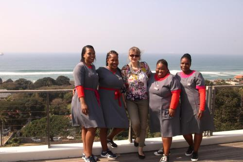 Snezana and the Ocean Vista Team