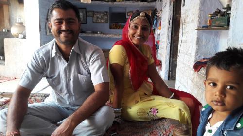 Chhotaram Prajapat and Mamata Prajapat