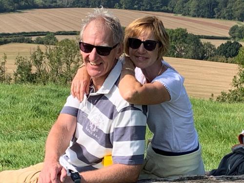 Jane and Gareth Rowe