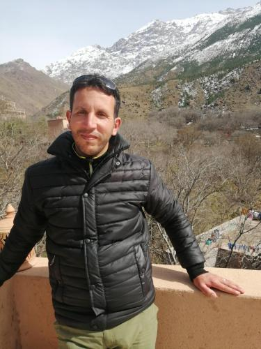 Jamal Idali owner of Dar Atlas guest house