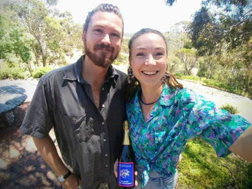 Ian and Margot