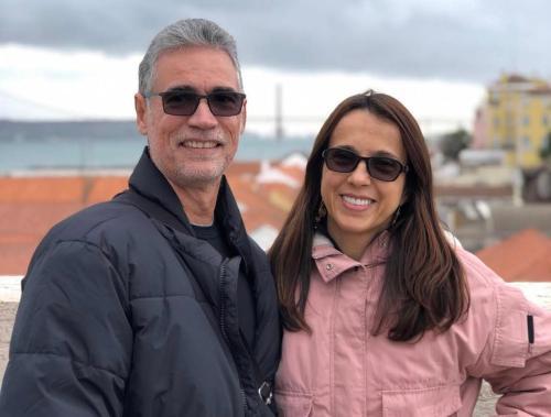 Everaldo Tavares e Ana Paula