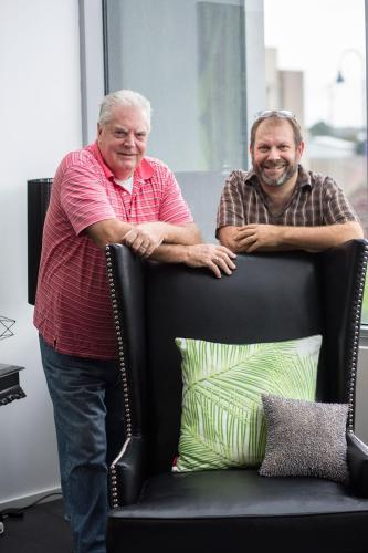 Ian and Robert