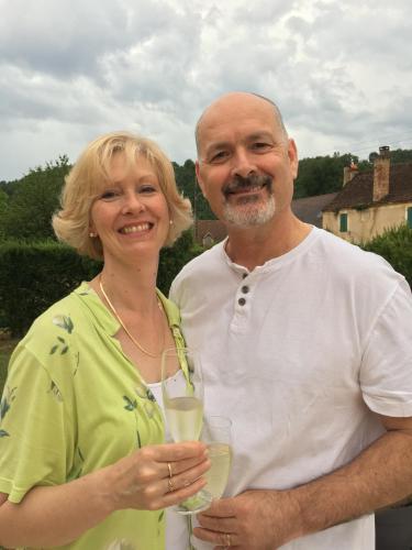 Meryl and Chris JAMES