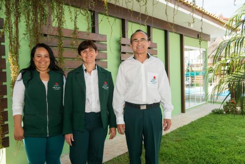 Daniela, Susana, Eloy - Equipe Mar do Leste
