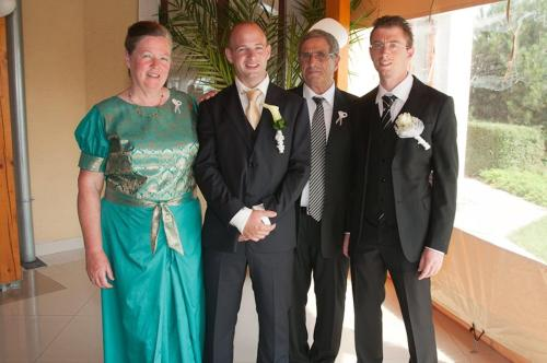 Luciano, Susan, Alex and Riccardo wish you a happy stay