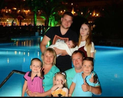 Зульфия ,Владимир, наши дети и внуки