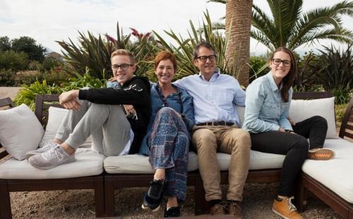 Susanne, Lisette, Boaz and Ronald