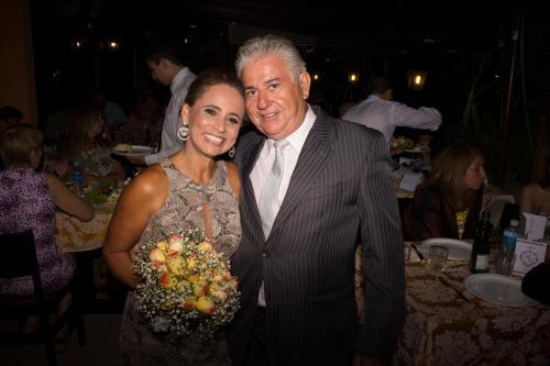 Eu e minha esposa querida