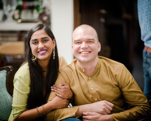 Adam & Radhika