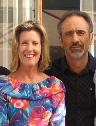 Christine Hondow and Brian Vanner
