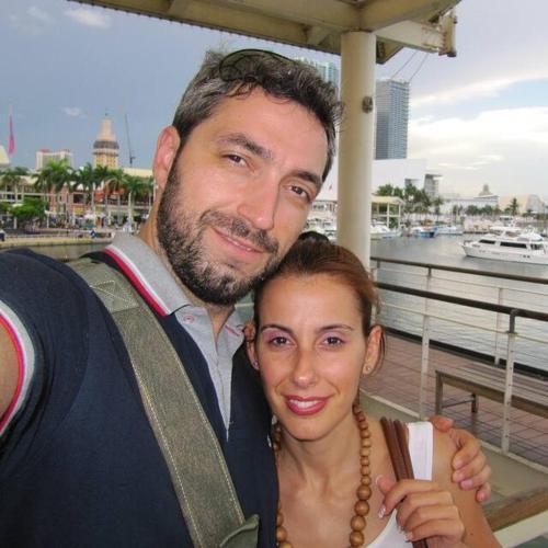 Niki and my husband Dimitris