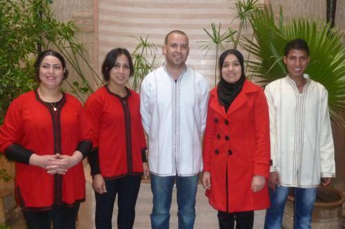 Badr, Said, Aziza, Zahira, Meriem