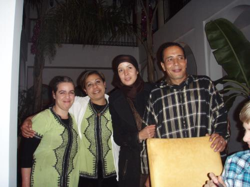 Fatima ,Abdou , Nadia, Bouchra