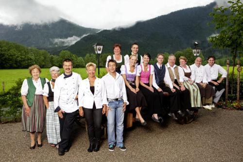 Unser Team vom Gasthof Jachenau