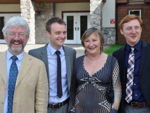 Donal, Donn, Edna and Ross
