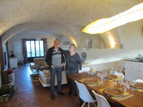 Michèle et Fernand lors de leurs dernières vacances