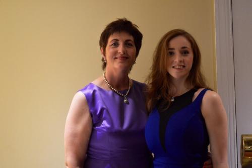 Pauline and Lauren