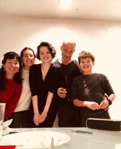 Jean-Marie Adrien & family