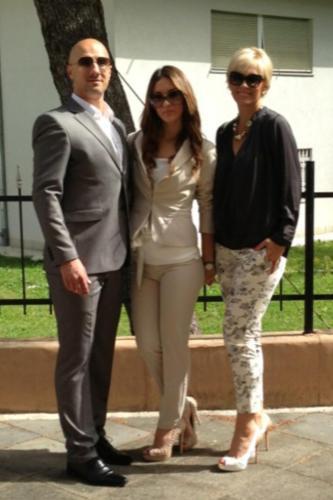 Suzana, Dado and Mia
