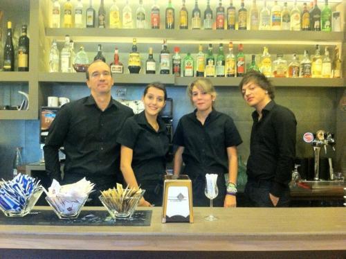 Gabriele e staff