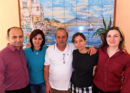 sonia giordano e lo staff
