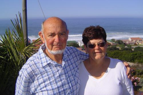 Louis and Joy Cook, owners of At Whale-Phin Guesthouse