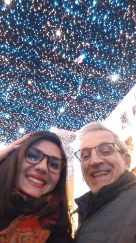 Ago e  nipote Valentina