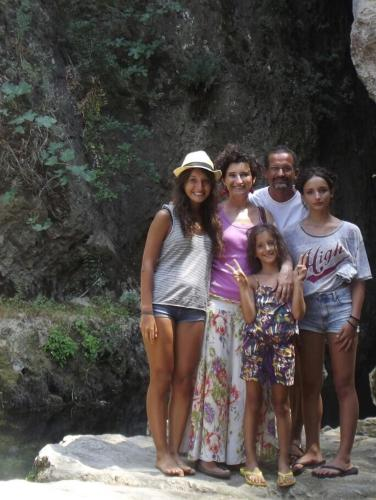 Teresa, Matilde, Irene, Cristina e io