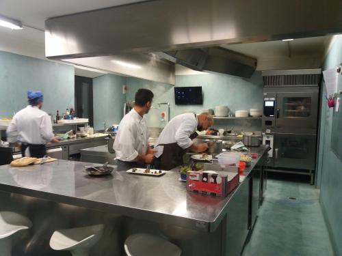 La nostra cucina durante il servizio