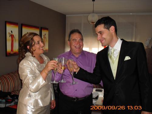 Maria Cruz & Carlos (gerentes)Inaguración