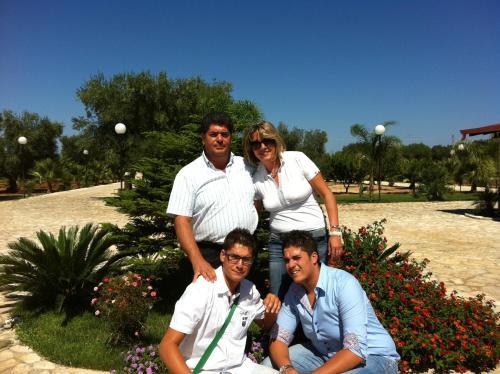 I titolari: Gianna, Rocco, Antonio e Giuseppe