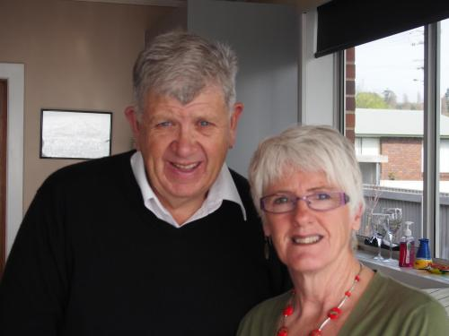 Terry and Libby Burton