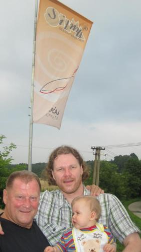 Andrej, Pavel a Andrejek Kopcajovi