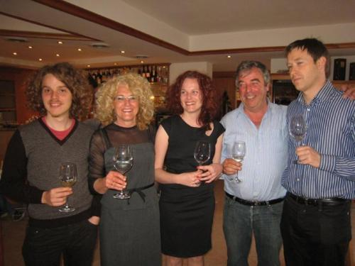 Lukas, Greti, Kathrin, Roman & Mirko