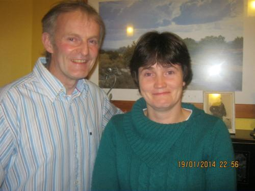 Pat and Kathleen