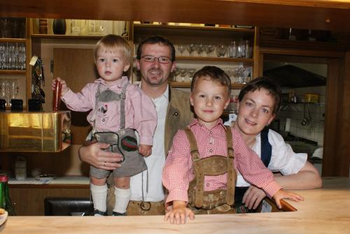 Familie Frans und Silvia Schrammel