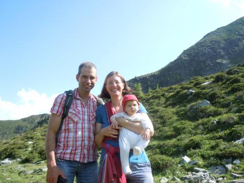 Markus Oberrauch und Familie