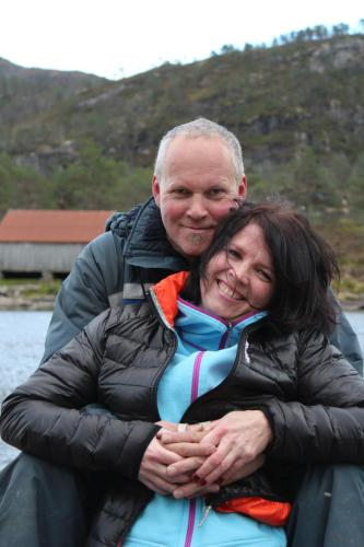 Heidi og Sigurd med familie