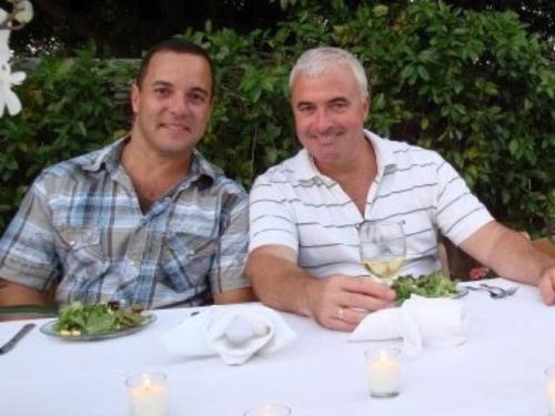Mauricio and Stuart