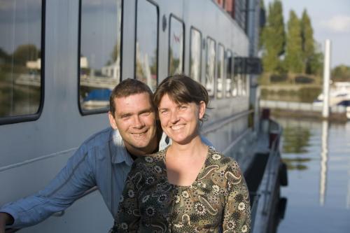 Leo en Katy van der Schaft - Stroobants