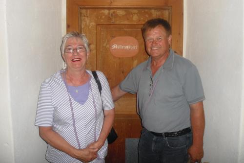 Värdparet Lena Glantz Eriksson och Göran Eriksson
