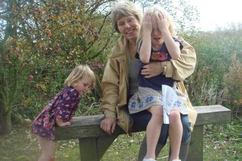 anne and grandchildren