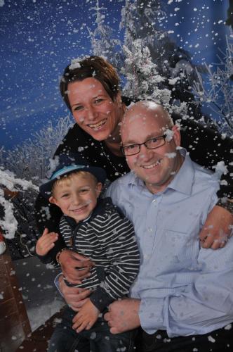 Familie Maik, Andrea und Dominik Peters