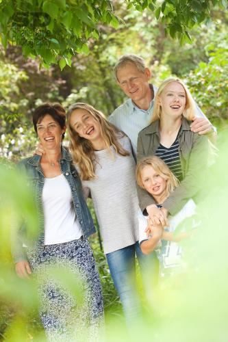 Myself, My husband Peter and my daughters Josie, Emma and Lucy